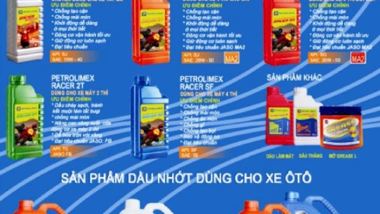Thương hiệu dầu nhớt PCL (Petrolimex)