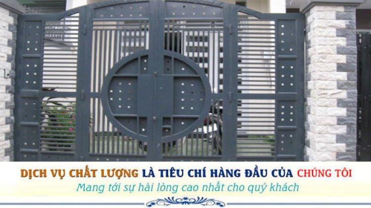 Sửa cửa sắt Huy Hoàng Phát