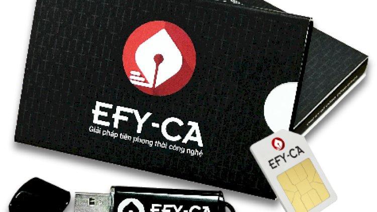 Chữ ký số EFY-CA